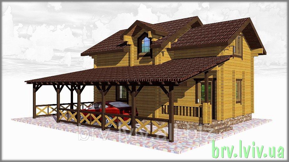Заказать Проектирование, строительство домов из дерева, дома деревянные в Украине