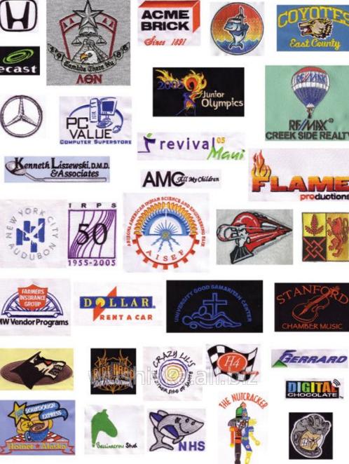 Заказать Вышивка логотипов