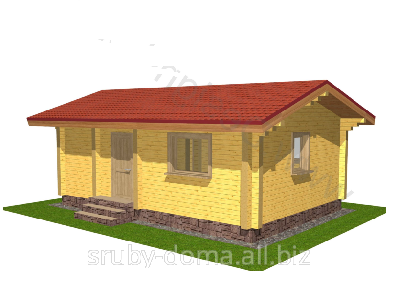 Заказать Дачные домики, дачи, домики для отдыха. Акция - 1350 грн. за м² по стене.