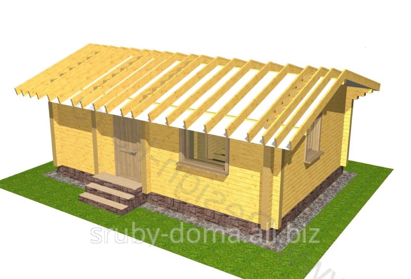 Заказать Строительство дачных домиков в Украине. Акция - 1350 грн. за м² по стене.