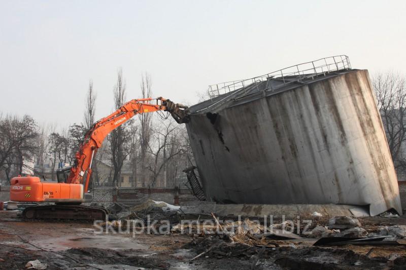 Разборка, демонтаж металлических зданий и сооружений в Украине