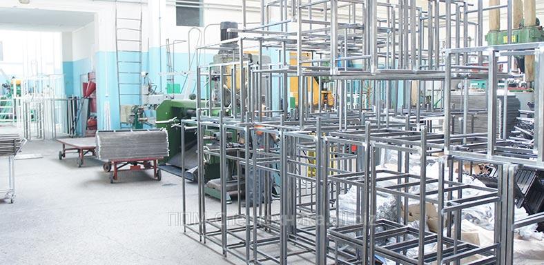 Заказать Производство металлических подвижных механизмов