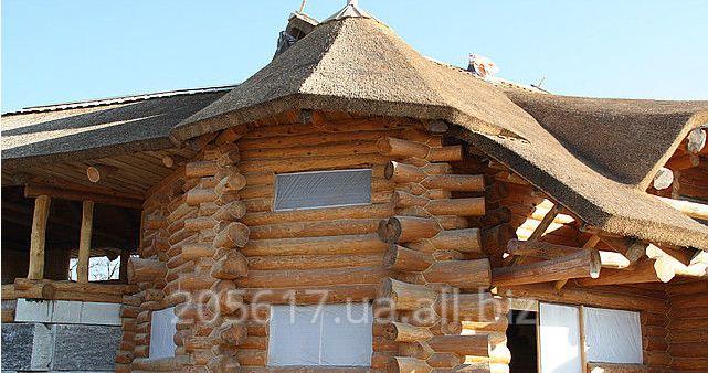 Заказать Строительство дома из дикого сруба под заказ