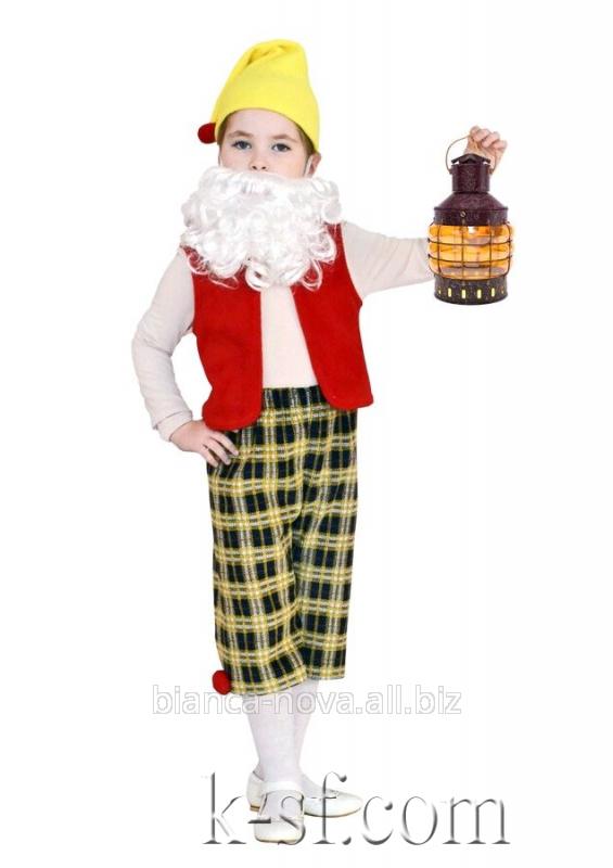 """Заказать Прокат карнавального костюма """"Гномик""""."""