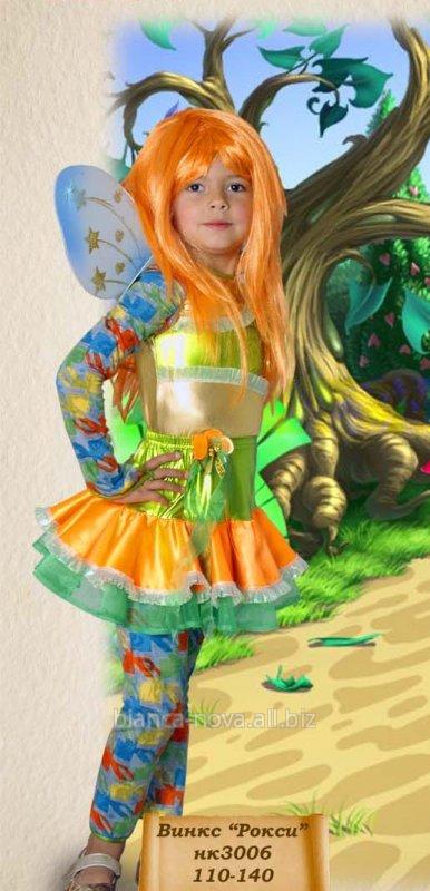 """Заказать Прокат карнавального костюма """"Фея Винкс - Рокси""""."""