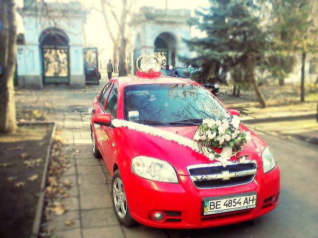 Заказать  Прокат авто на свадьбу Chevrolet Aveo