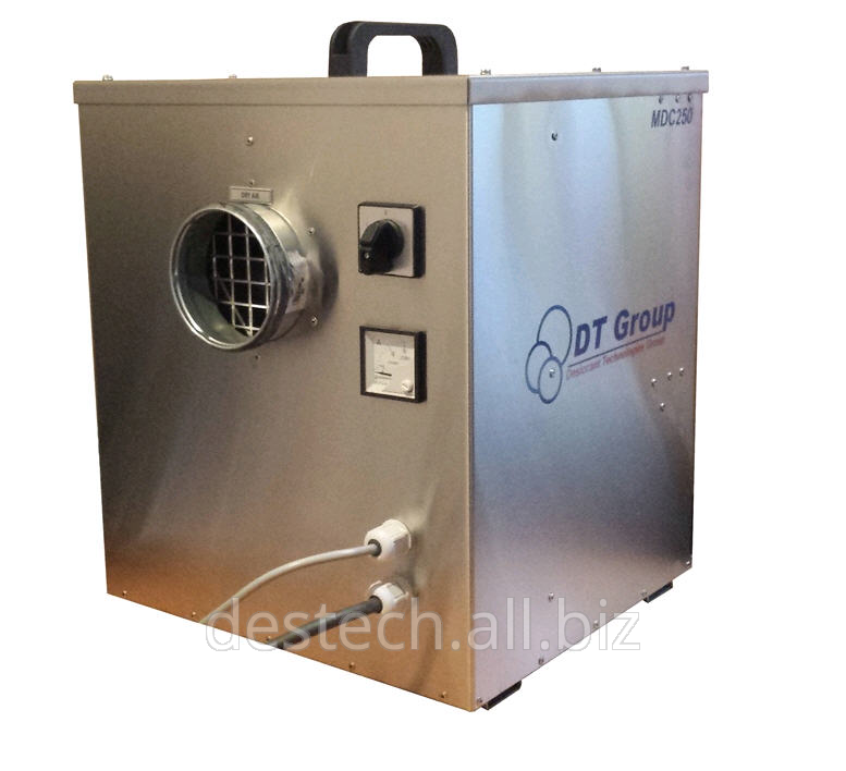 Installation of dehumidifiers of air