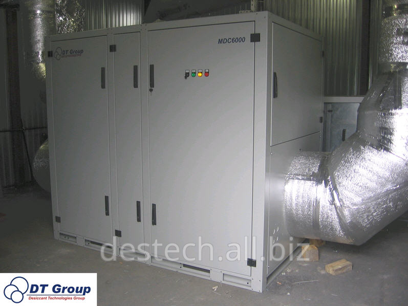 Order Delivery of dehumidifiers of air