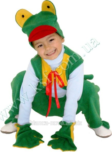 """Заказать Прокат карнавального костюма """"Лягушонок""""."""