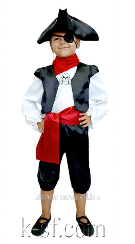 """Заказать Прокат карнавального костюма """"Пират""""."""