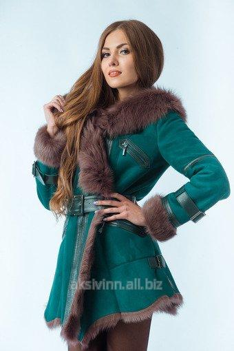 Sheepskin coat dry-cleaner order at Vinnitsa on English