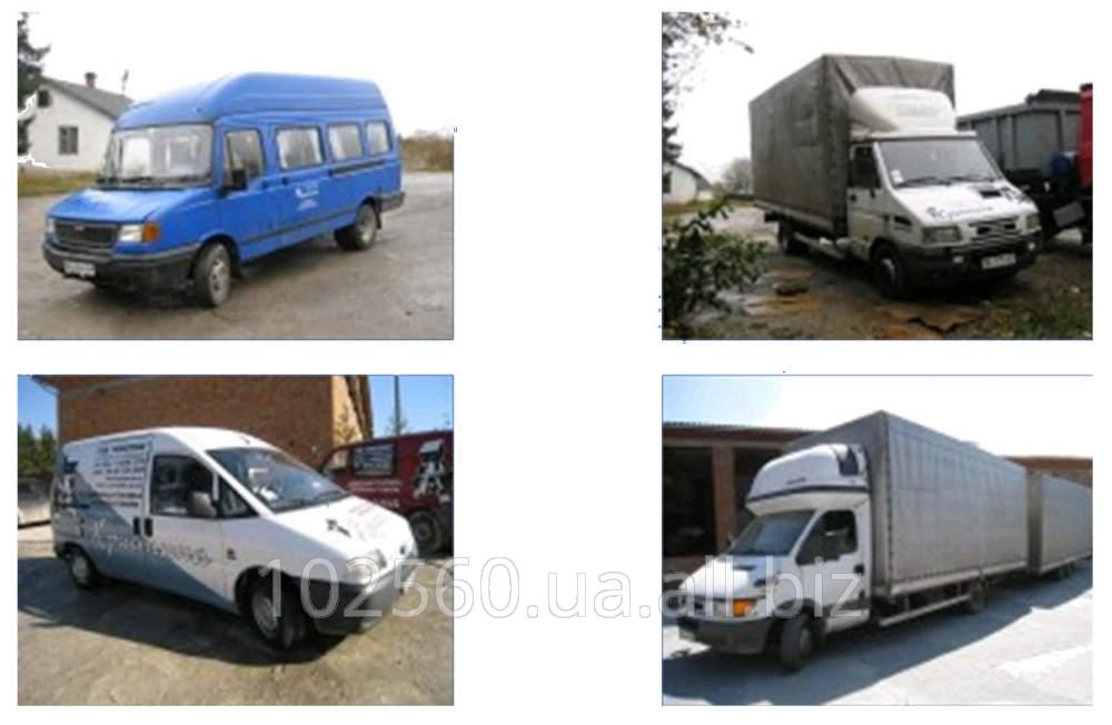 Заказать Доставка продукции автомобильным транспортом