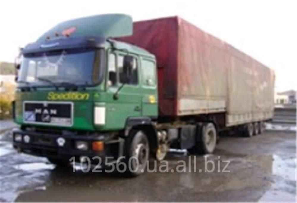 Заказать Транспортные услуги автомобилем MAN 19.372