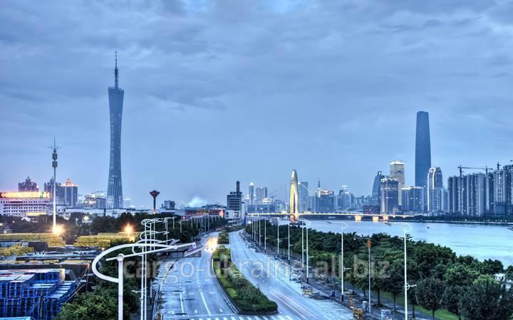 Авиаперевозка грузовая международная в Гуанчжоу (Кантон)