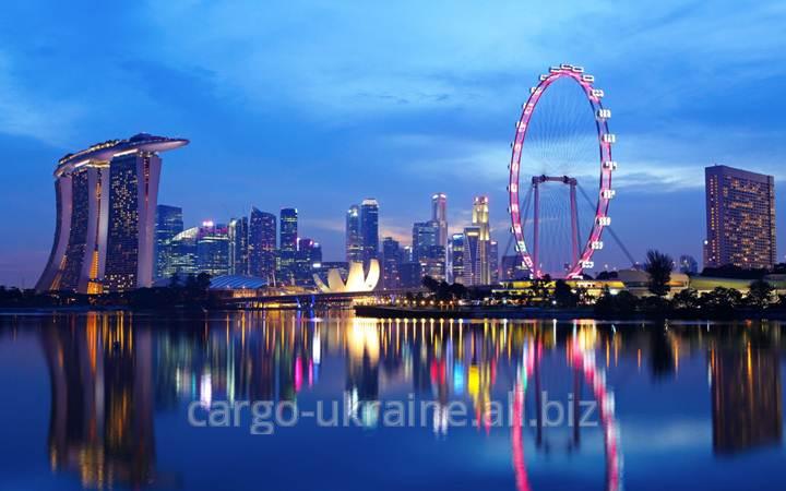 Авиаперевозка грузовая международная в Сингапур