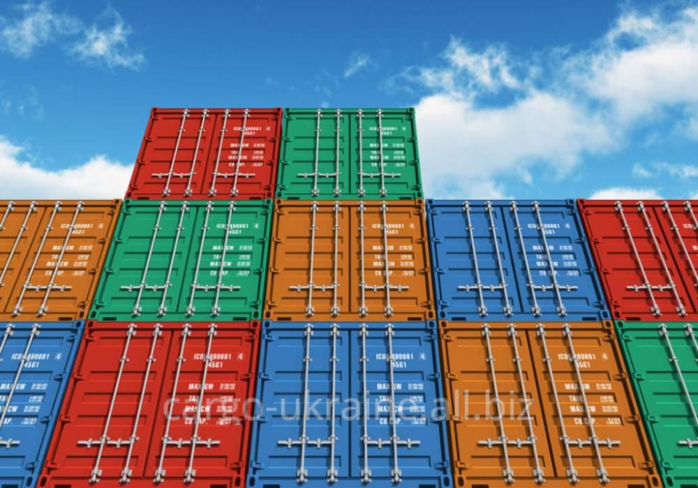 Переработка в порту контейнеров