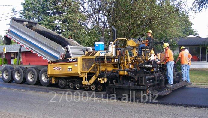 Заказать Строительство и ресмонт дорог по Украине и по всему миру