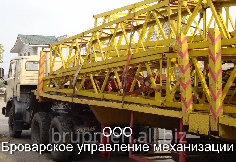 Transportation of oversized designs of Brovara and Kiev region - Width of the transported designs to 3,2 m and length to 13 m.