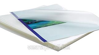 Ламинирование картона матовой плёнкой