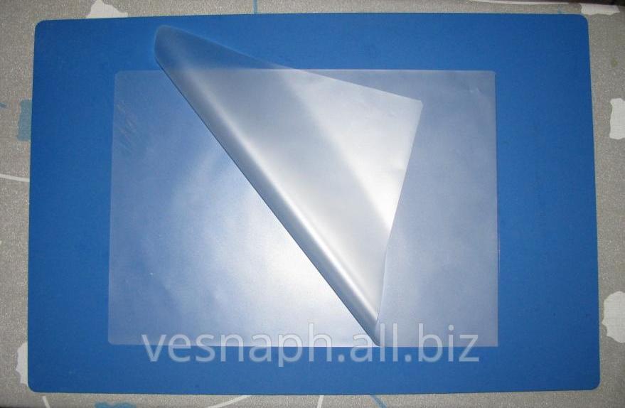 Ламинирование картона прозрачной плёнкой