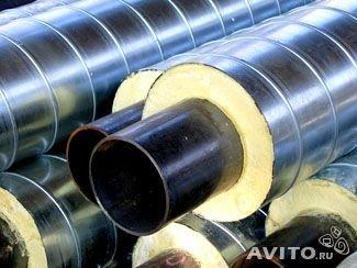 Заказать Услуги по изолированию труб полиуретаном ПЭ СПИРО оболочки
