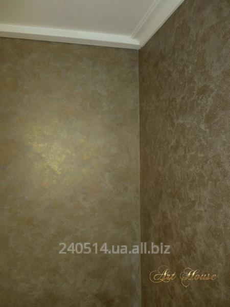 Заказать Декорирование стен краской с эффектом песчаных бурь
