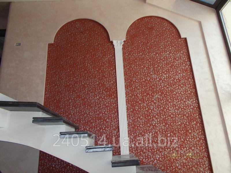 Заказать Услуги по декорированию стен Линкруста