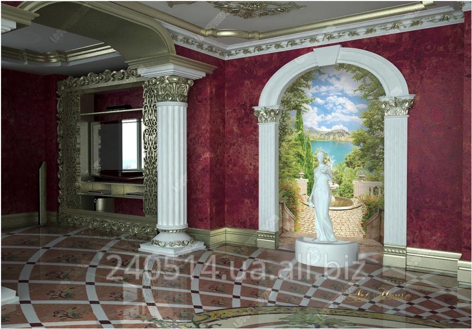 Заказать Установка фресок на флизелиновой основе