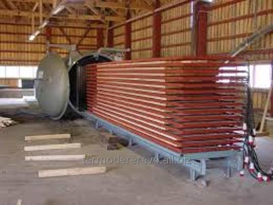 Заказать Термическая обработка древесины