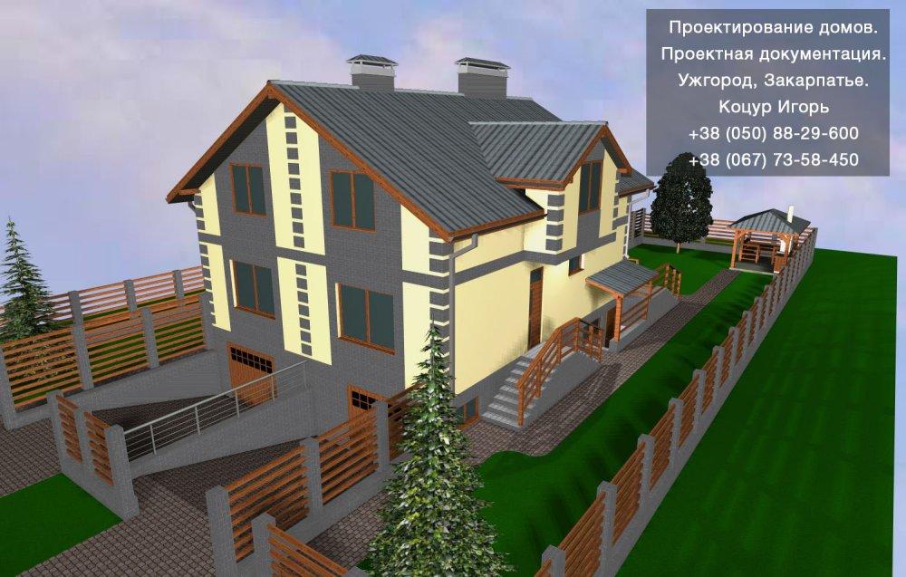 Заказать Створення проектів житлових будинків. Індивідуальний підхід. Ужгород, Закарпаття.