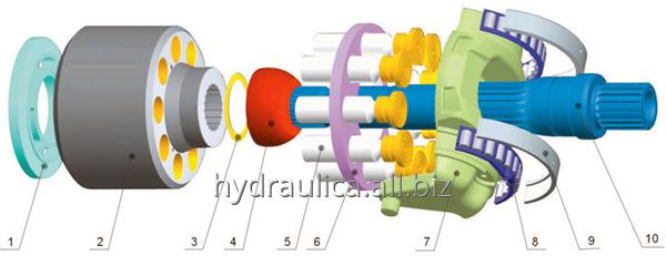 Ремонт гидросонасов, гидромоторов, гидроцилиндров