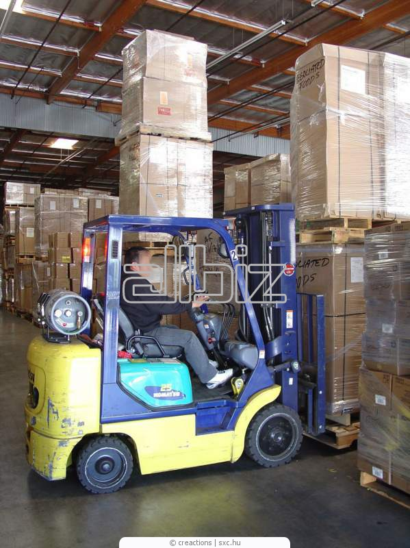 Order We provide warehouse services in storage of goods