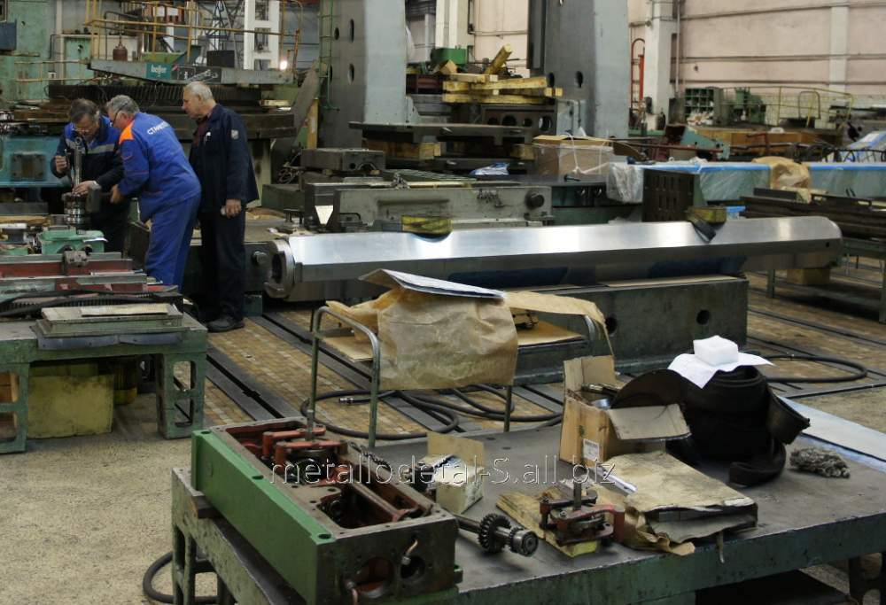 Ремонт и восстановление деталей оборудования различного назначения