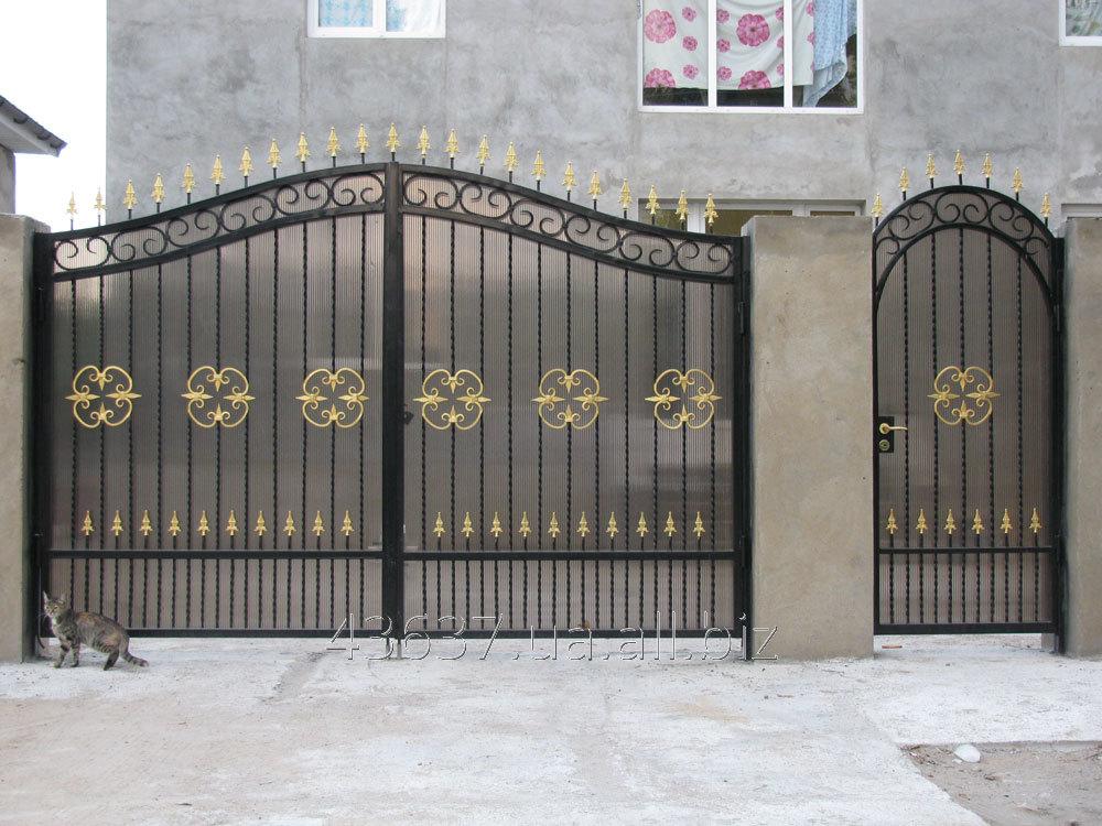 Заказать Ворота уличные по индивидуальному заказу