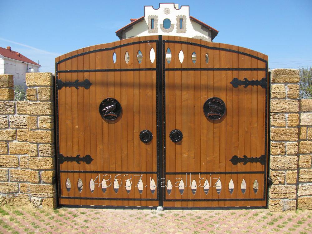 Заказать Ворота распашные с монтажем