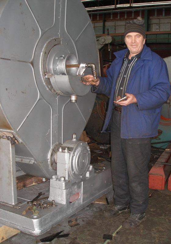 Order Installation and commissioning of the rezinoobrabatyvayushchy equipmen