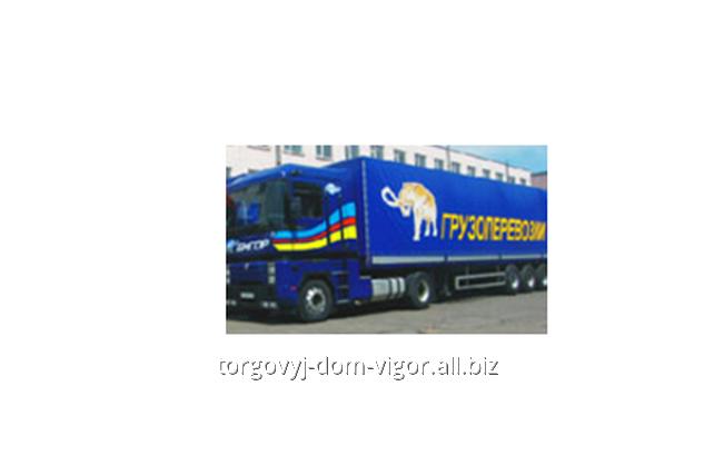 Заказать Услуги по перевозке грузов автотранспортом