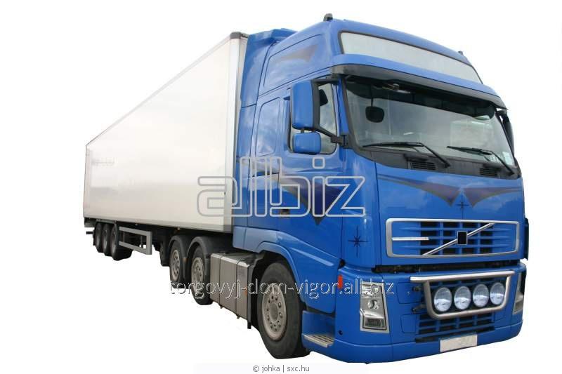 Заказать Грузоперевозка крупнотоннажным автотранспортом