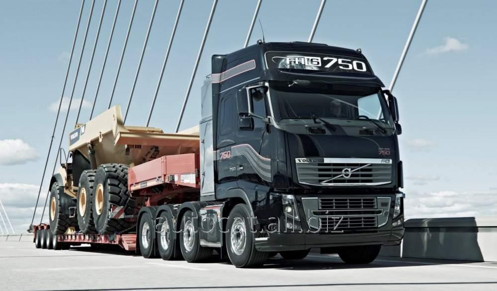 Перевозки тралами крупногабаритных и тяжеловесных грузов по всей территории Украины