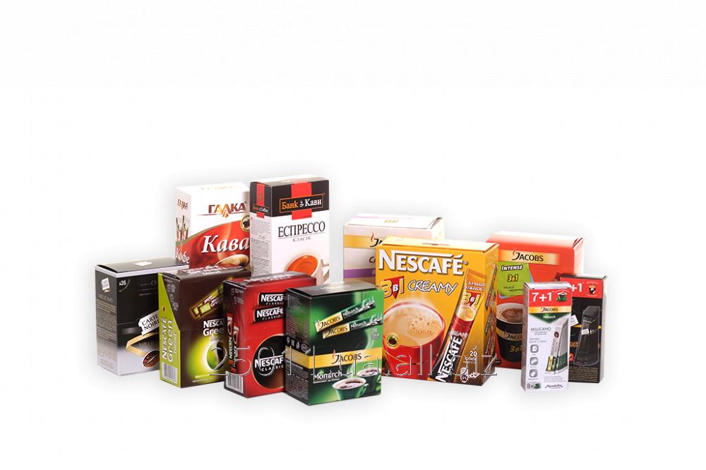 Заказать Изготовление картонной упаковки под заказ