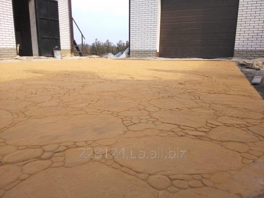 Заказать Штампованный бетон