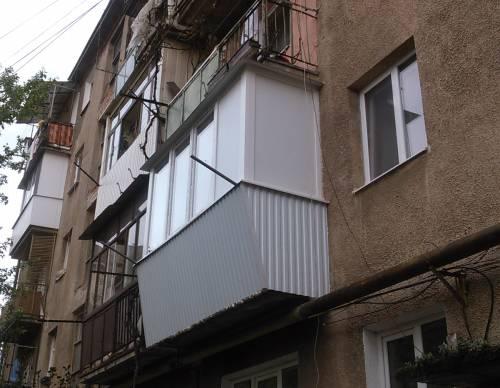 Заказать Балкон з виносом