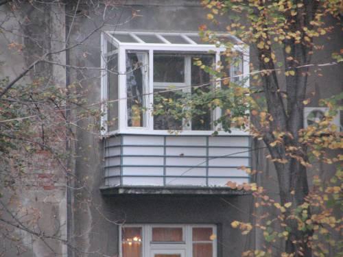 Заказать Балкон з прозорим дахом