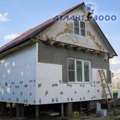 Заказать Утепление фасада дома пенопластом
