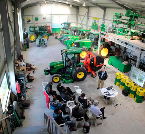 Обслуживание и ремонт сельскохозяйственной техники John Deere