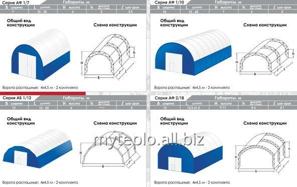 Строительство складов, ангаров, складских комплексов, центров и помещений