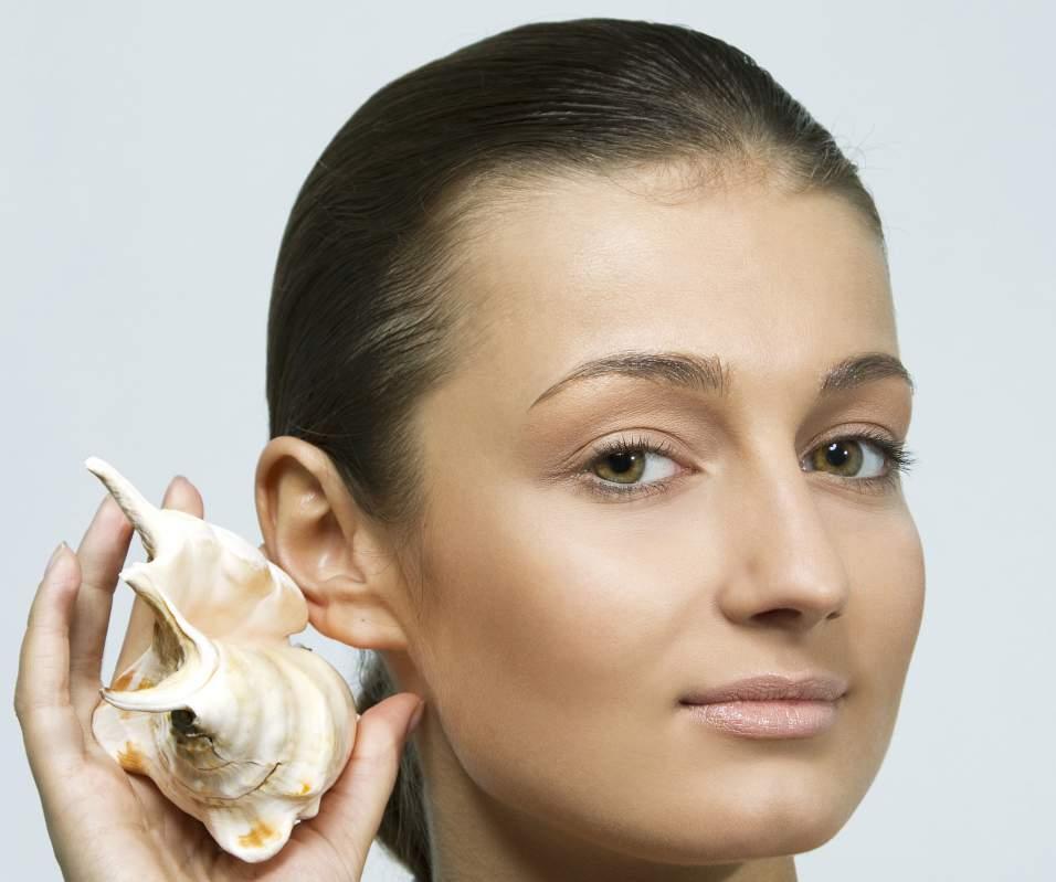коррекция формы ушей.