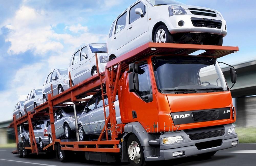 Заказать Транспортування транспорту замовника в указане місце