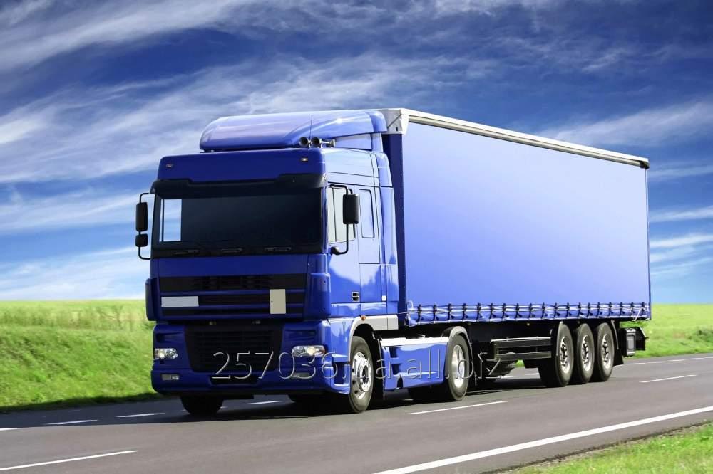 Заказать Перевозка грузов автомобильные