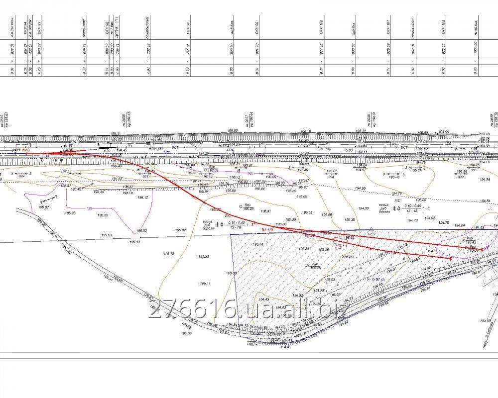 Заказать Проектирование железных дорог